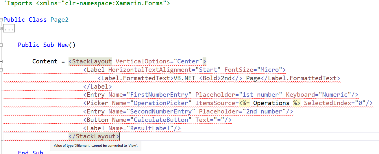 Pattern-Based XML Literals Prototype: Cross-Platform Mobile Apps w